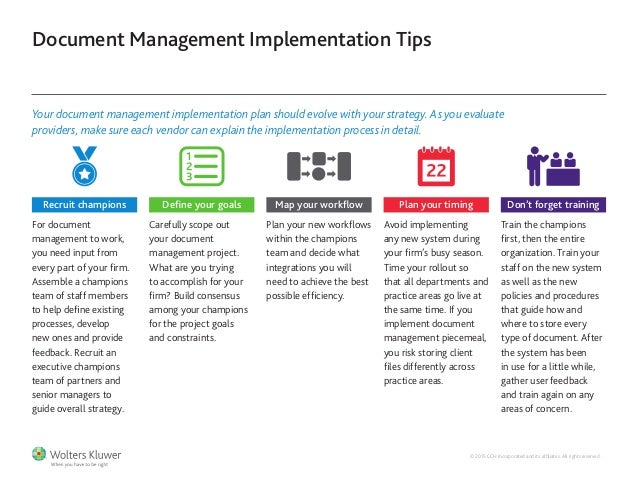 game changing document management strategies