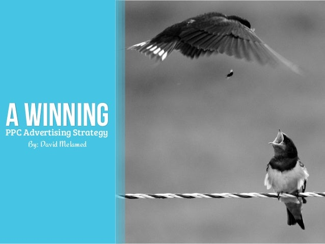 a Winning By: David Melamed PPC Advertising Strategy