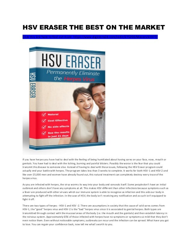 HSV ERASER THE BEST ON THE MARKET Click this link here to find out more: https://www.digistore24.com/redir/275200/Maverick...