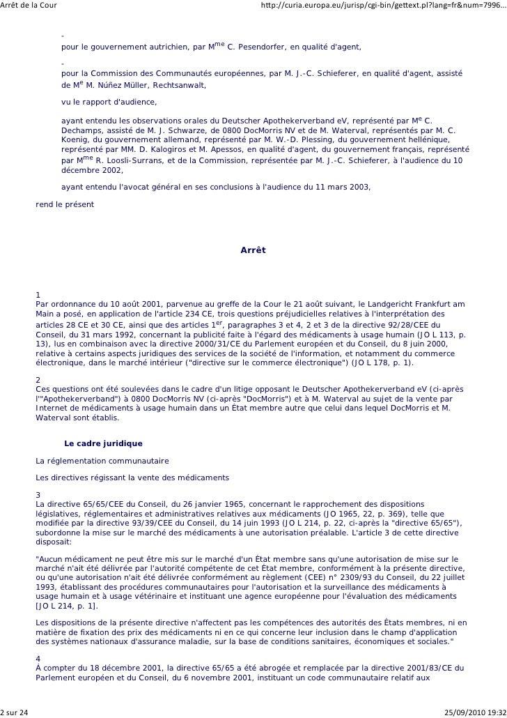 Arrêt de la Cour                                                      http://curia.europa.eu/jurisp/cgi‐bin/gettext.pl?lan...