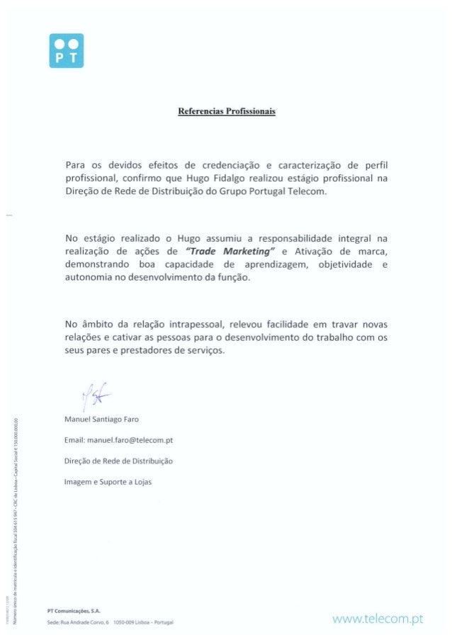 Reference Letter From Dr. Manuel Faro (Comercial Department Manager A…