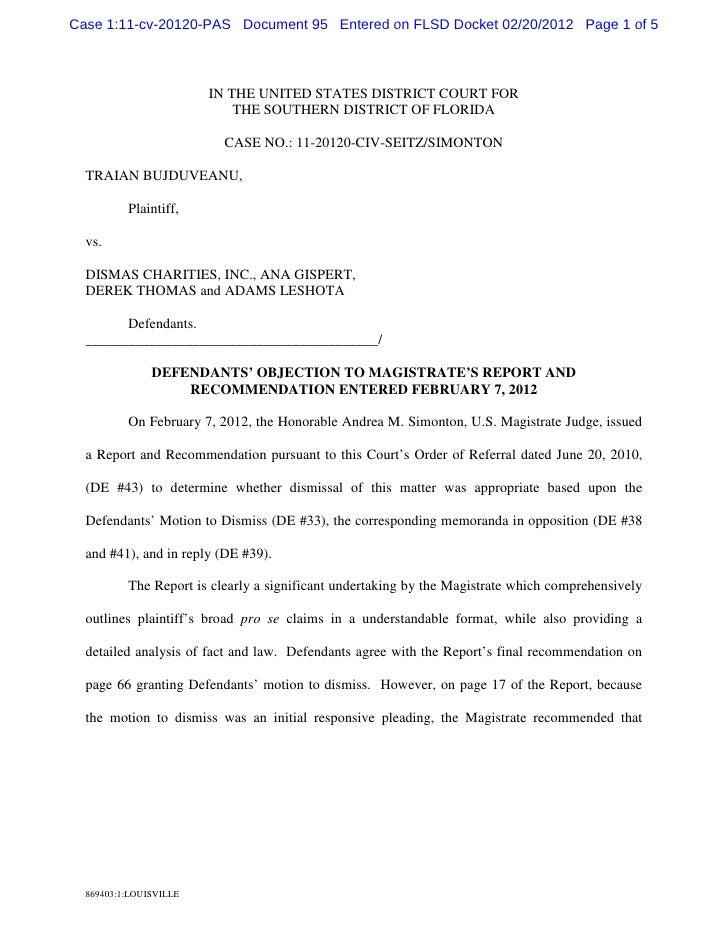 Case 1:11-cv-20120-PAS Document 95 Entered on FLSD Docket 02/20/2012 Page 1 of 5                        IN THE UNITED STAT...