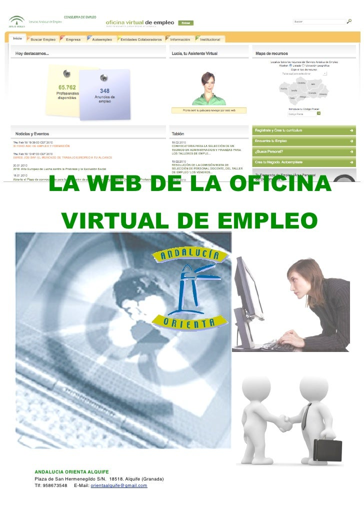 Documentaci n oficina virtual de empleo sae for Correos es oficina virtual