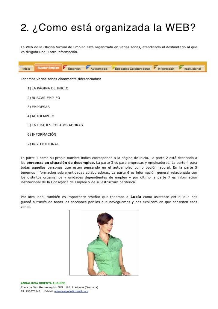 Documentaci n oficina virtual de empleo sae - Oficina virtual entidades locales ...