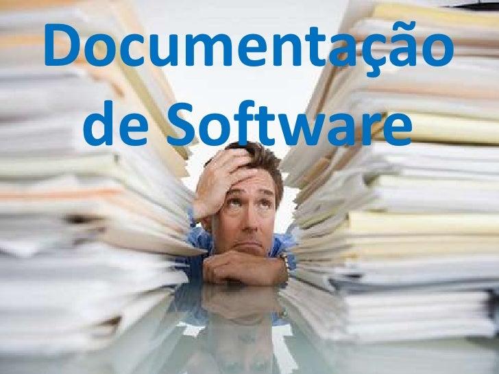 Documentação de Software<br />