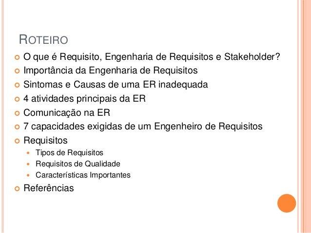 Fundamentos de Engenharia de Requisitos Slide 2