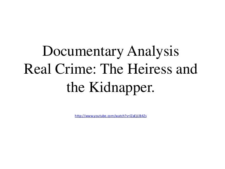documentary analysis This article highlights the importance of utilizing documentary analysis as one of the important qualitative methodologies to through the medium of a film.