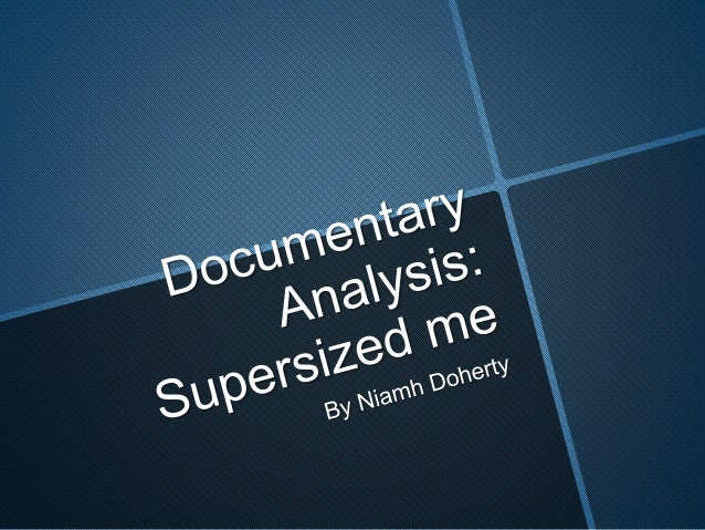 documentary This documentary is a mixture of all documentaries. For example, in the documentary he acknowledges the presen...