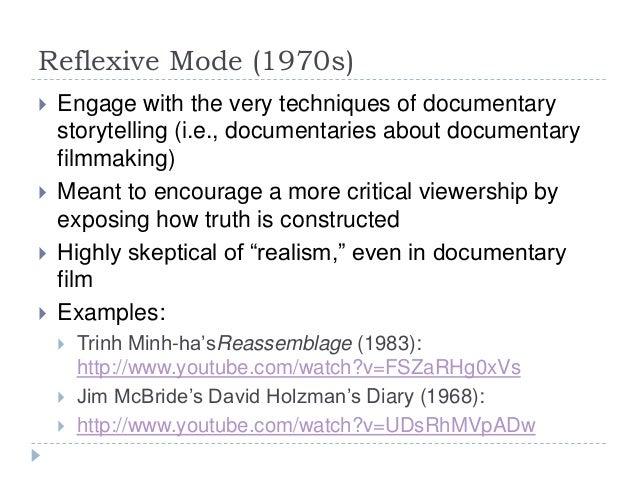 documentary modes