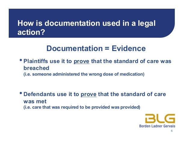 importance of documentation care in nursing The importance of good record-keeping for nurses 14 january, 2003 comprehensive records are essential in healthcare and nurses need to dedicate time to documentation.