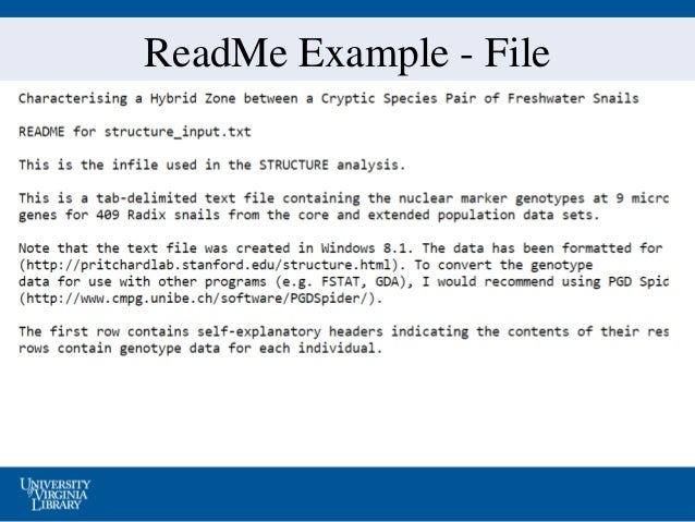 readme sample