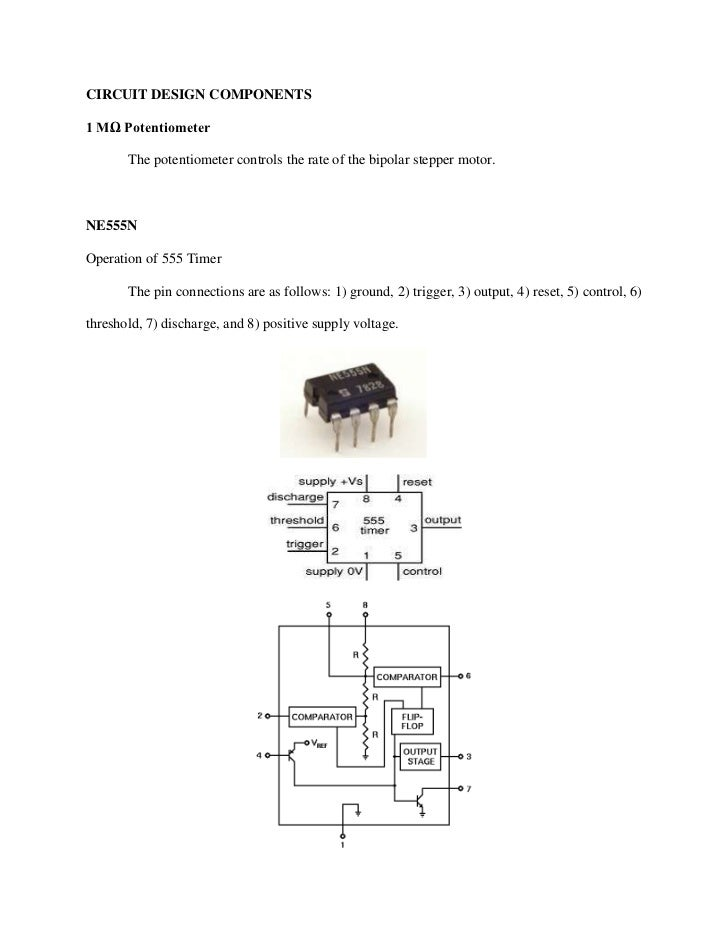 555 timer stepper motor driver for Bipolar stepper motor driver circuit