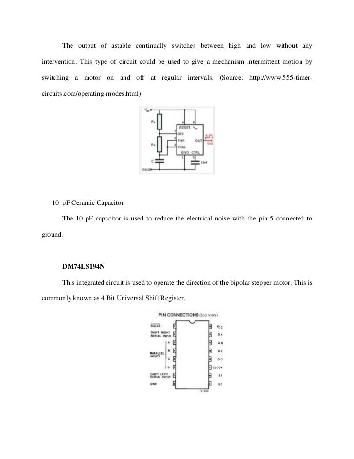 Documentation bipolar stepper motor driver circuit for Bipolar stepper motor driver circuit