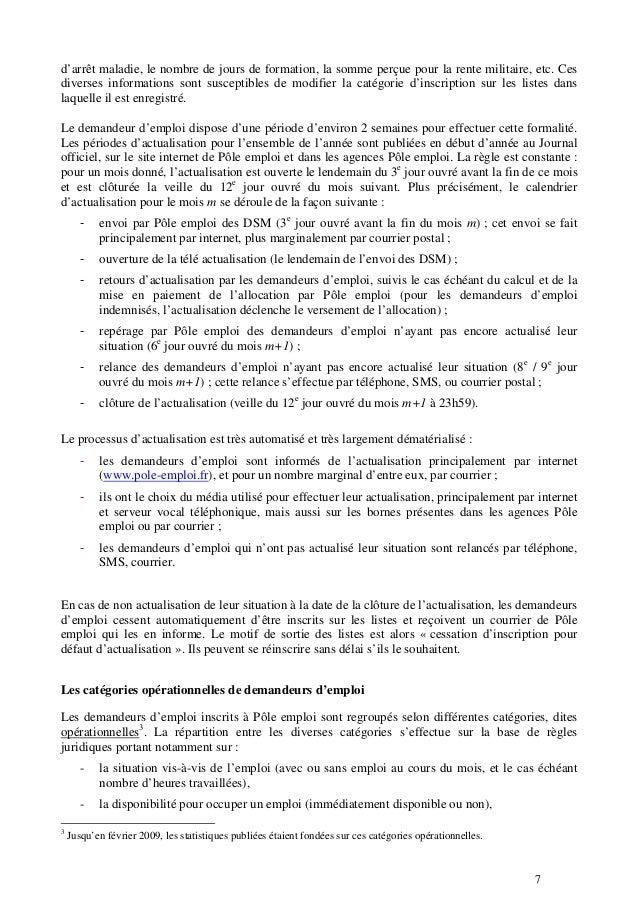 Documentation Methodologique Relative Aux Statistiques Sur Les Demand