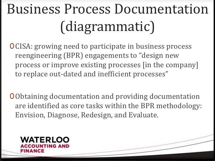 13 business process documentation - Process Documentation Methodology