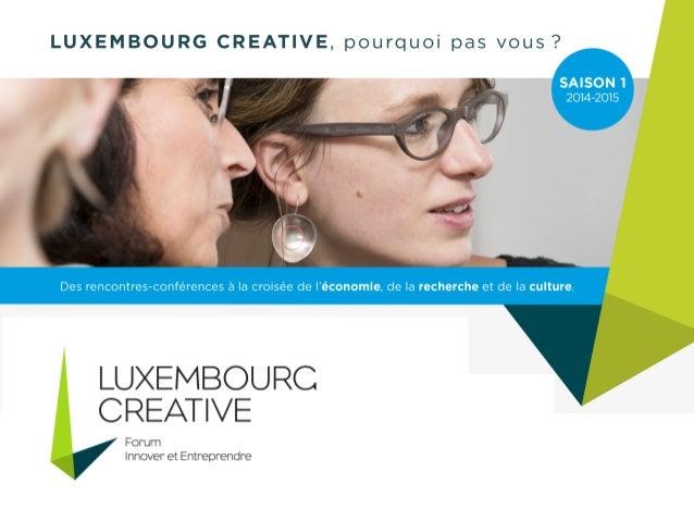 Design thinking : l'approche empathique, clé de voûte  de l'entreprise créative ?  30 septembre 2014  Palais abbatial