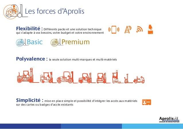 Les forces d'Aprolis Flexibilité :Différents packs et une solution technique qui s'adapte à vos besoins, votre budget et v...