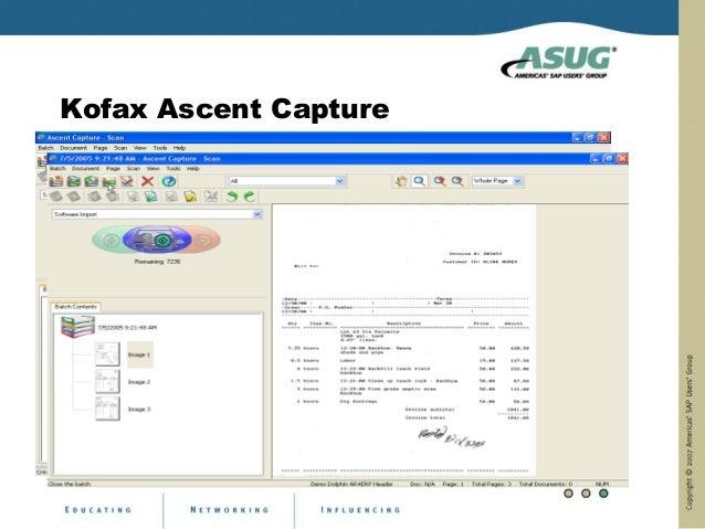 Kofax Ascent Capture