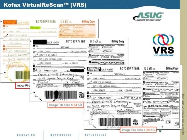 Kofax VirtualReScan™ (VRS)    Image File Size = 213 KB