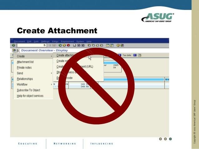 Create Attachment