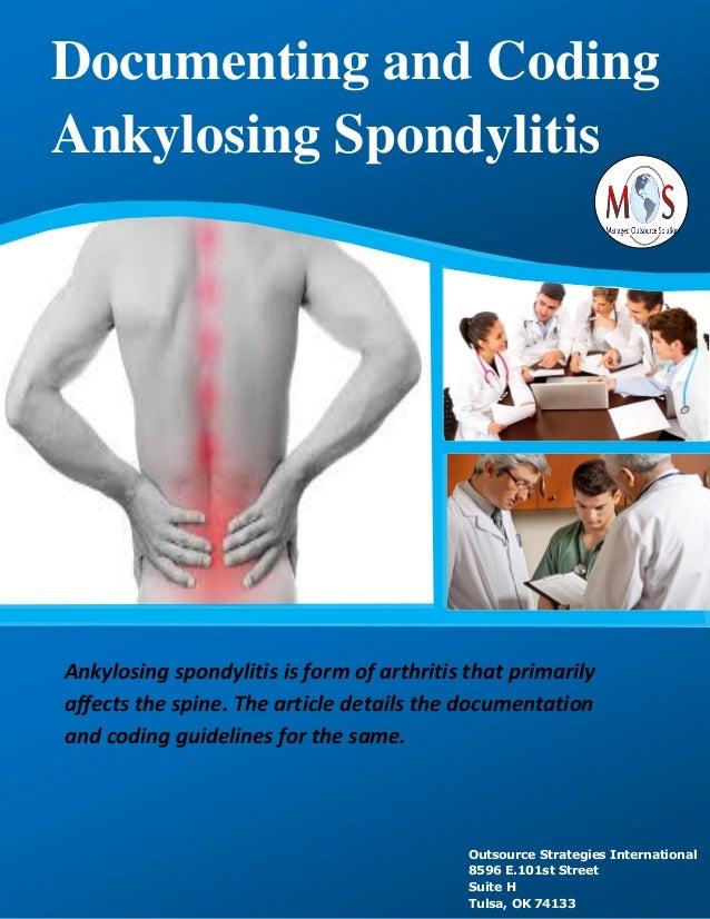 Documenting and coding ankylosing spondylitis