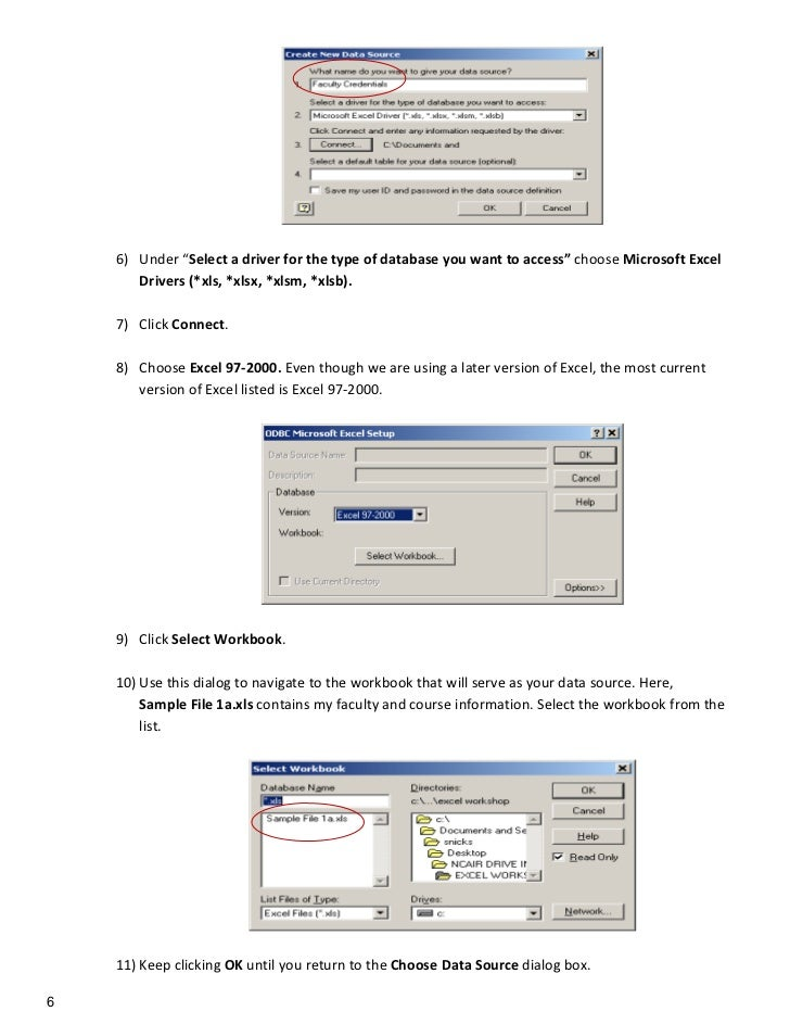 Install microsoft excel driver (*.xls *.xlsx *.xlsm *.xlsb)