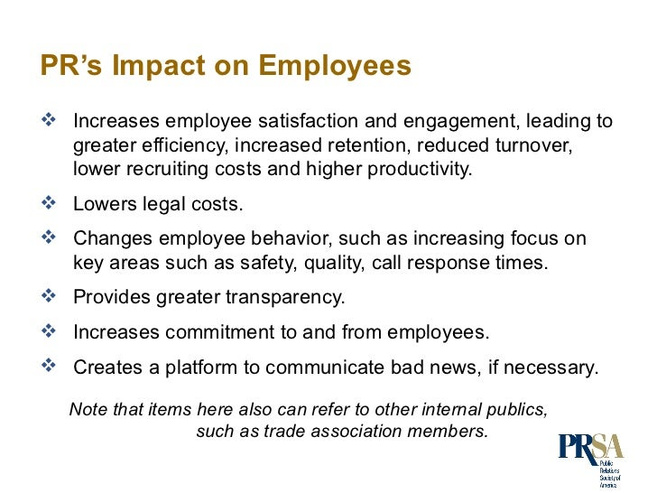 The effect of an employee s inital
