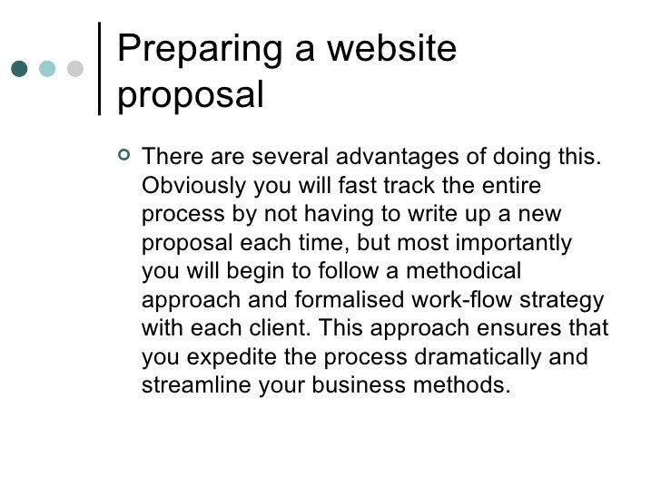 Documenting The Website Proposal