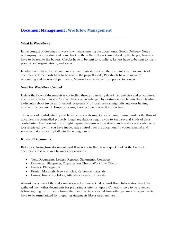Document management workflow management document management workflow management what is workflow in the context of documents malvernweather
