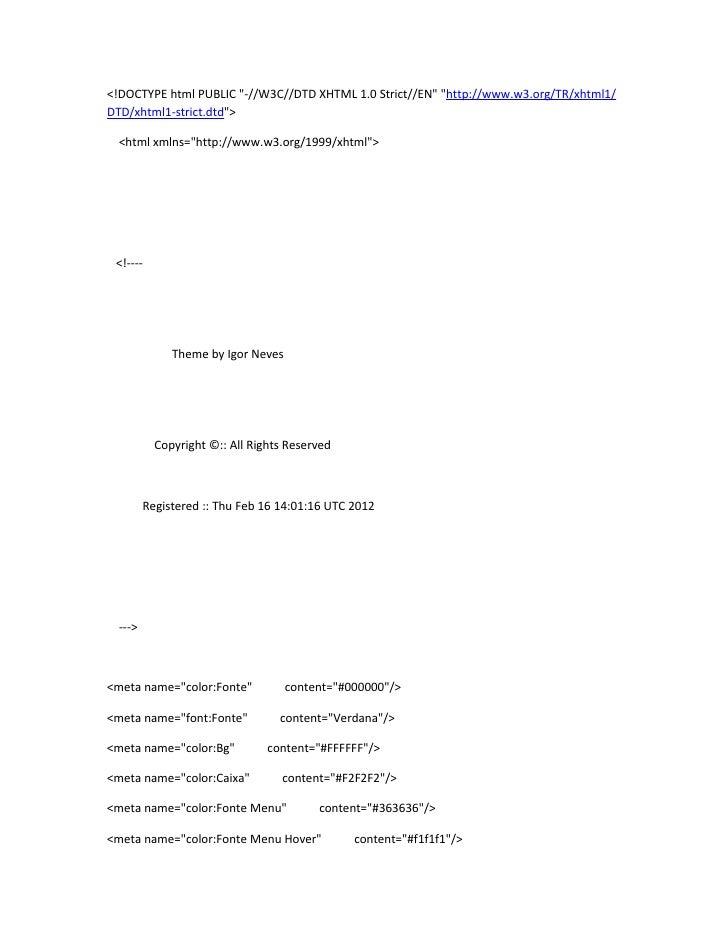 "<!DOCTYPE html PUBLIC ""-//W3C//DTD XHTML 1.0 Strict//EN"" ""http://www.w3.org/TR/xhtml1/DTD/xhtml1-strict.dtd"">  <html xmlns..."
