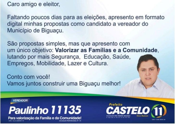 Propostas - Paulinho 11.135