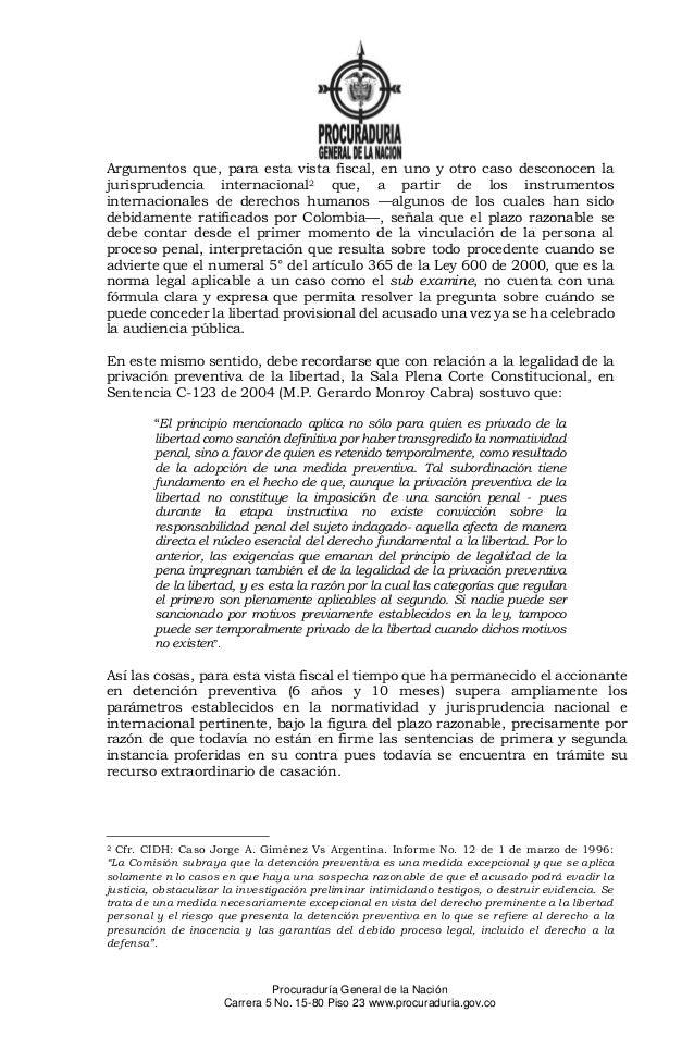 Recurso de Insistencia de la Procuraduría Slide 3