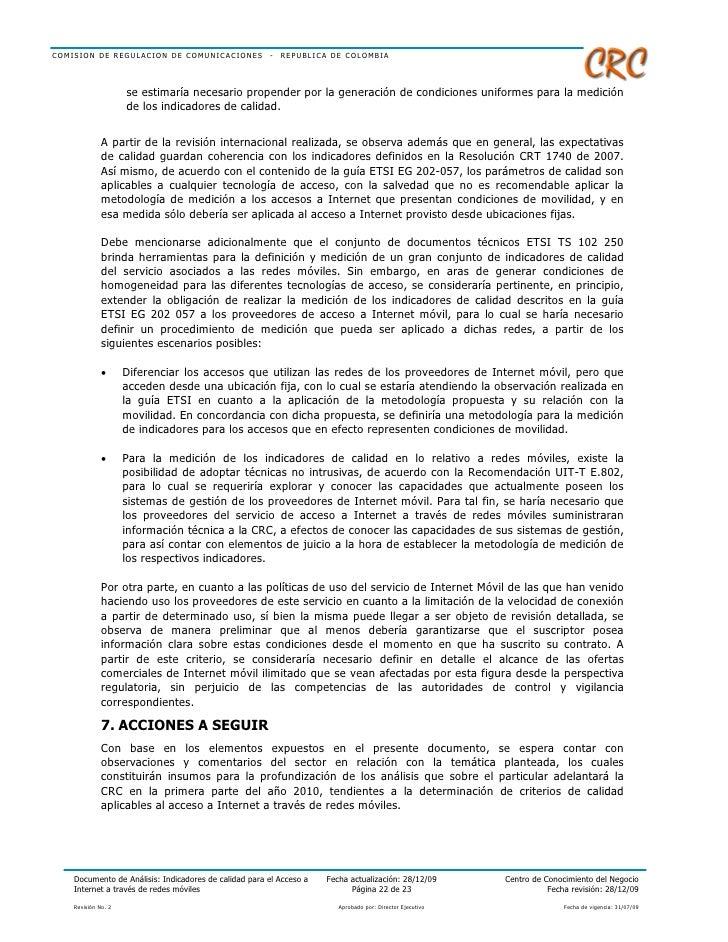 de4b8db9c10 Documento Analisis Indicadores Calidad Acceso Internet Redes Moviles
