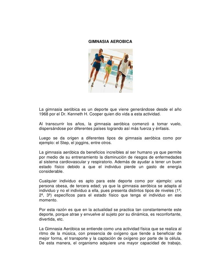 Gimnasia aer bica for Definicion de gimnasia