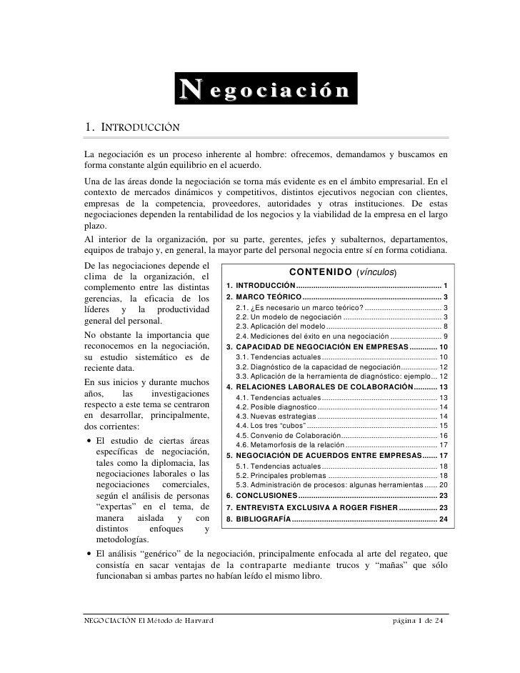 N e g o c ia c ió n  ,1752'8,Ð1 La negociación es un proceso inherente al hombre: ofrecemos, demandamos y buscamos en form...