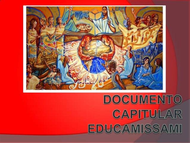 IMPORTÂNCIA DO TEMA     A missão educativa é uma dimensão fundamental do nosso carisma eucarístico, missionário e marian...