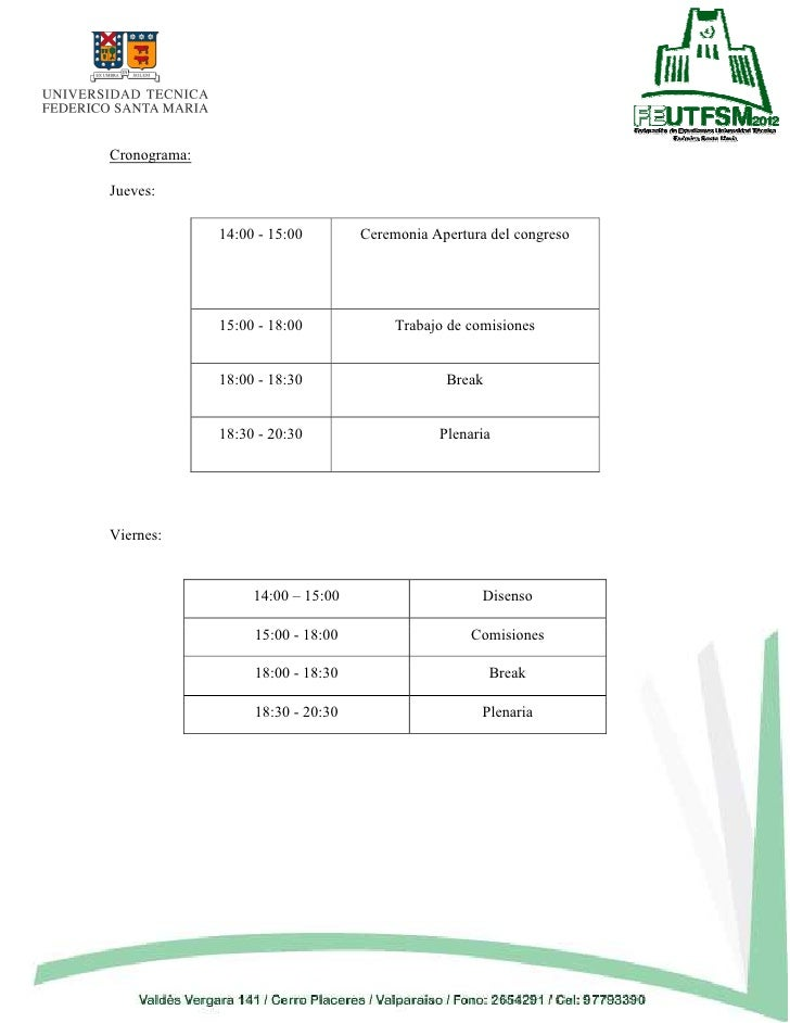 Documento Congreso de Estudiantes Slide 3