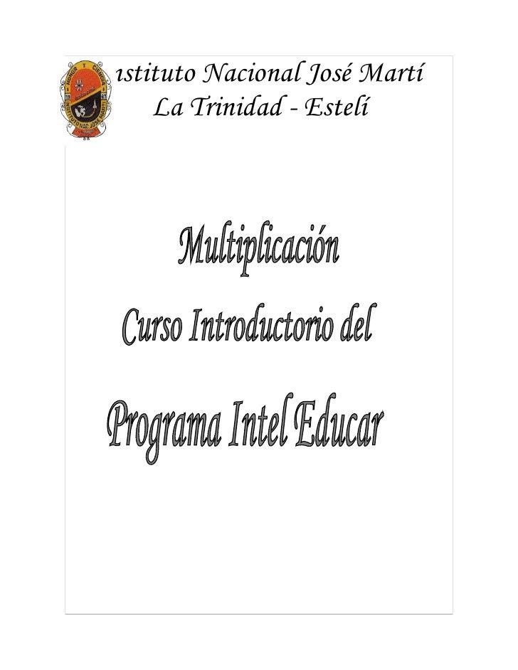Instituto Nacional José Martí      La Trinidad - Estelí