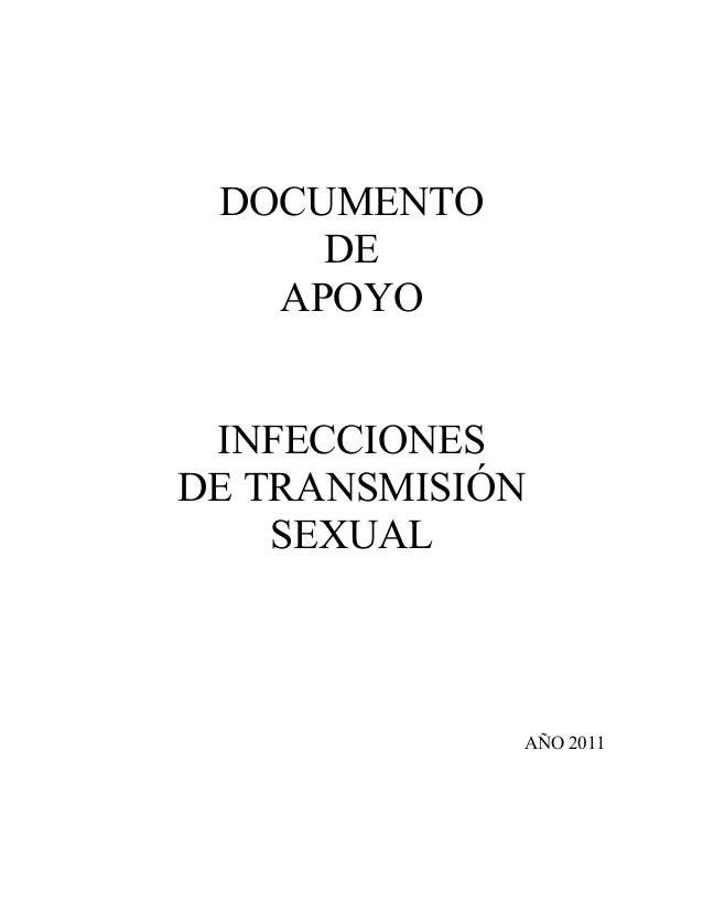 DOCUMENTO DE APOYO INFECCIONES DE TRANSMISIÓN SEXUAL AÑO 2011