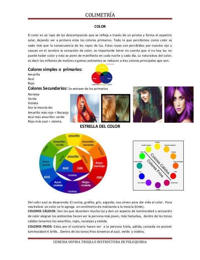 COLIMETRÍA COLOR El color es un rayo de luz descompuesto que se refleja a través de un prisma y forma el espectro solar, d...