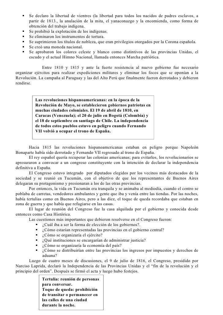 Documento del bicentenario 1º parte