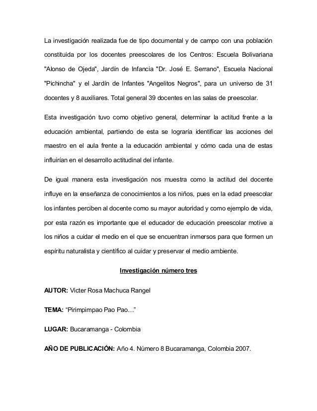 POBLACIÓN: Escuela Normal Superior de Bucaramanga. Nivel de Preescolar,  Grado Transición, estudiantes de ambos sexos en e...