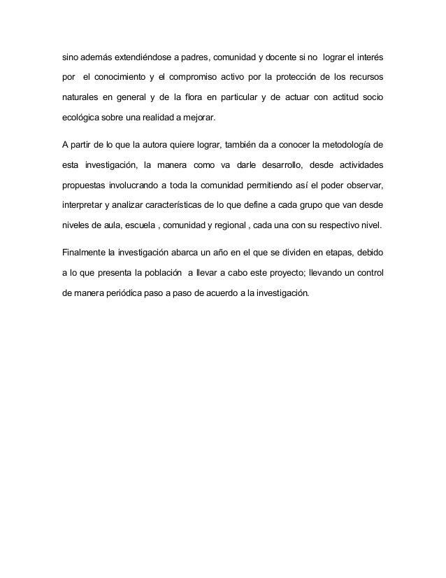OBJETIVOS  OBJETIVO GENERAL:  Diseñar una propuesta de actividades sobre el cuidado del medio ambiente en  niños de (3 a 5...