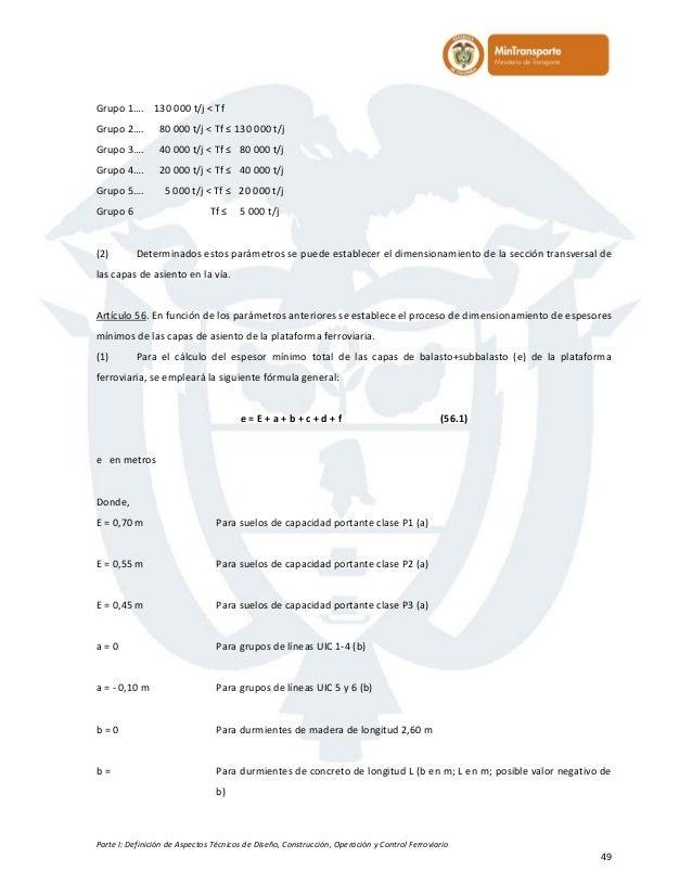 Manual férreo de especificaciones técnicas 1