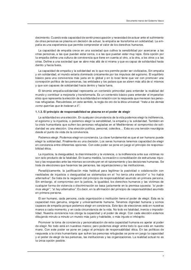 Documento marco del Gobierno Vasco para orientar de forma compartida …