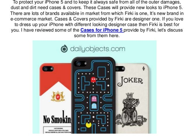 Unique Designer Cases for iPhone 5