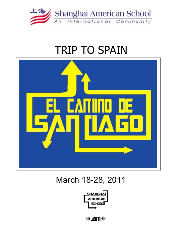 TRIP TO SPAINMarch 18-28, 2011