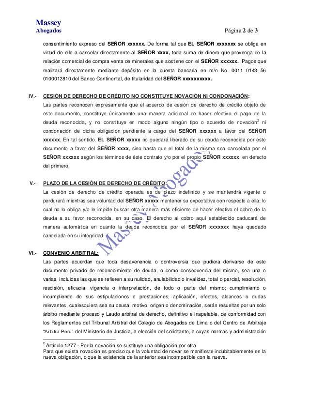 Documento privado de transacci n extrajudicial for Clausula suelo y acuerdo extrajudicial