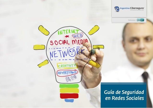 Realizado por: Guía de Seguridad en Redes Sociales