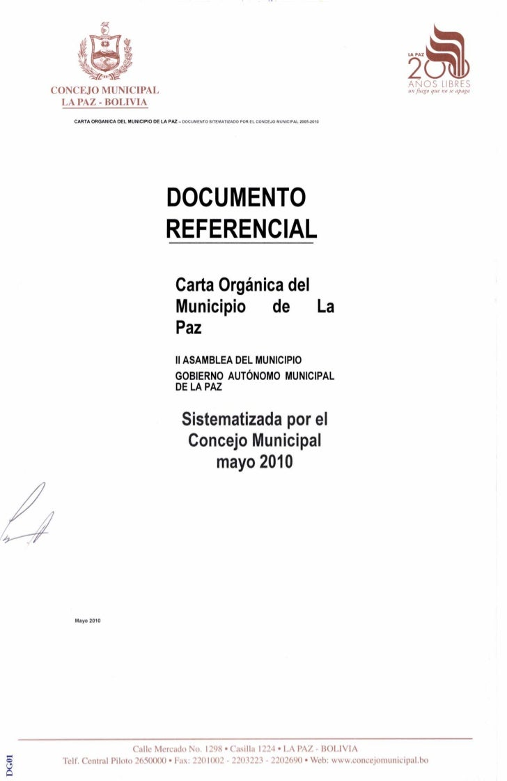 Documento referencial mayo 2010